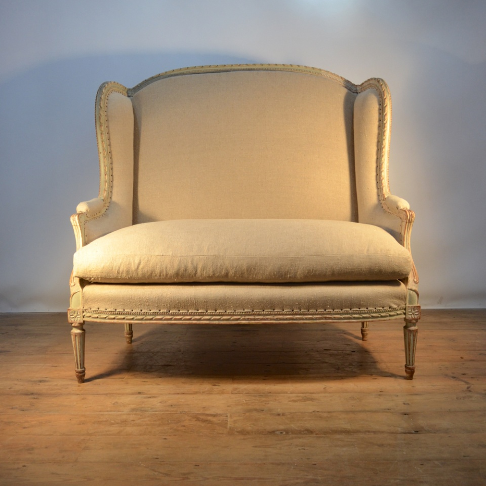 French painted canape sofa c104b the one off chair company for French canape sofa