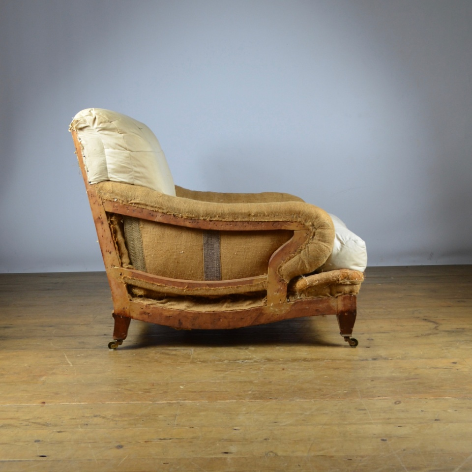 C266 Howard Style Armchair Reupholstery Included The One Off Chair Company